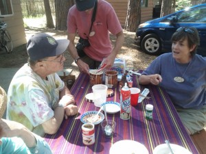Family Camp Ice Cream Social