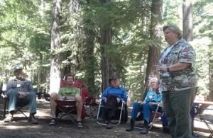 Melinda McLain at Family Camp