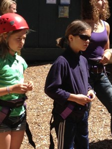 Family Camp Youth Ropes Course