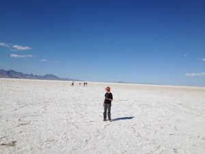 Mission Trip at the Salt Flats in Utah