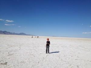 Mission Trip at the Salt Flats in Utah