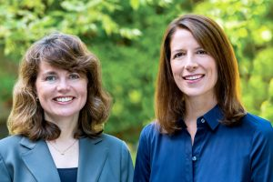 Louise Greenspan, MD, and Julianna Deardorff, PhD