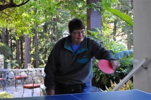 Ping Pong games on the porch (Small)