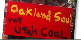 Ban Coal in Oakland